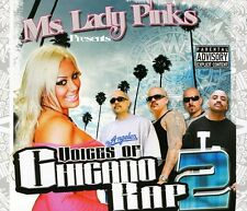 Voices Of Chicano Rap 2 - Ms. Lady P (2011, CD NIEUW) Explicit Version3 DISC SET