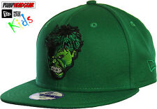 The Hulk Marvel Comics New Era 950 Snapback Kids Cap (Age 5 - 10 Years)