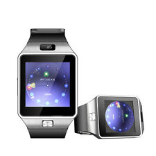 LCD Bluetooth Smart Watch With Camera SIM For Android Samsung S6 5 4 Note 3 4 5