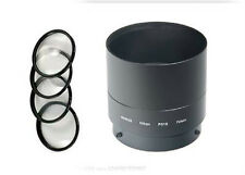 MACRO CLOSE UP Lens 4 Filter Kit bundle + Tube for Nikon CoolPix P510 Camera