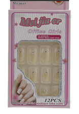 12 FAUX ONGLES A COLLER MANUCURE  ONGLERIE PETERANDCLO ART NAIL 1919