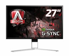 "AOC AGON AG271QG 27"" IPS LED Monitor G-SYNC, 2560x1440, 4ms, HDMI, DP, USB"