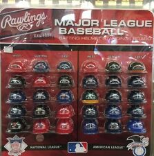 NEW Complete 30 MLB teams mini Batting Helmet Tracker set with standings board