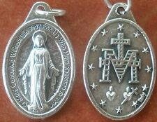 Miraculous Medal of the Immaculate Conception Medal + Hail Mary Full of Grace