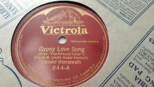 REINALD WERRENRATH GYPSY LOVE SONG & DUNA VICTROLA 844
