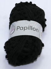 Papillon Scarf pom pom Knitting Yarn Wool - buy one get one free