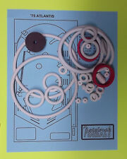 1975 Gottlieb Atlantis pinball rubber ring kit