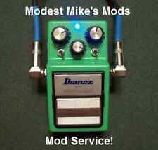 Ibanez TS-9 or TS-9DX Mod Service from Modest Mike's Mods