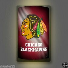 Chicago Blackhawks NHL Licensed MotiGlow™ Light Up Sign - Free USA shipping!