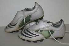 Adidas F30 TRX HG Soccer Cleats, #047574, White/Grey, US Women's Size 5.5