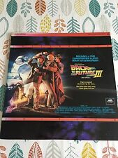 Back To The Future Part 3 Three Laser Disc Special Edition Letterbox Excellent