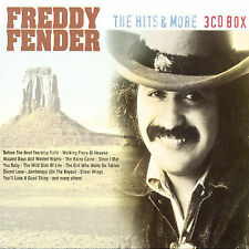 Hits & More [Sweden] by Freddy Fender (CD, Feb-2001, Golden Stars) CD3