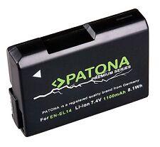 Patona Premium Akku für Nikon D3100, D3200, D3300, D5100, D5200, D5300 - EN-EL14