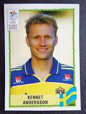 ☆ PANINI EURO 2000-Svezia / Svezia Kennet Andersson # 136
