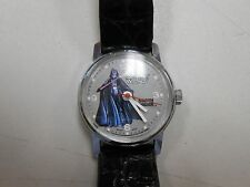 Vintage 1977 Star Wars Darth Vader mechanical watch! Swiss made! CHECK IT OUT!