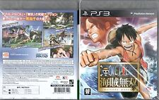 Ps3 juego One Piece kaizoku Musou Pirate Warriors 1 japonés nuevo