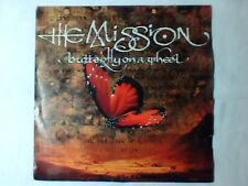 "THE MISSION Butterfly on a wheel 7"" WEST GERMANY"