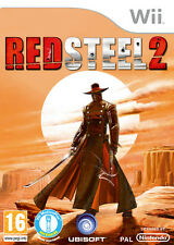 RED STEEL 2 CON Wii MOTION PLUS INCLUSO GIOCO NUOVO Wii