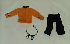 "vintage Mego Star Trek original SHIRT PANTS BELT COMMUNICATOR from 8"" CAPT. KIRK"