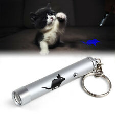 Cat Play Cat LED Laser Pointer Toy With Bright Mouse Animation For Endless Fun