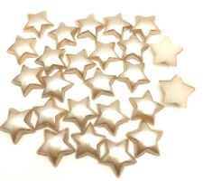NEW 100pcs 12MM Pentagon stars Glossy resin Scrapbook Craft Flatback DIY Coffee