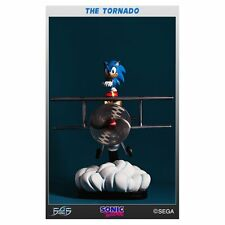 *NEW* Sonic The Hedgehog: The Tornado Diorama Polystone Statue by First4Figures