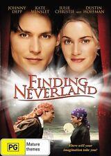 FINDING NEVERLAND 2004 = JOHNNY DEPP KATE WINSLET= PAL 4 = SEALED