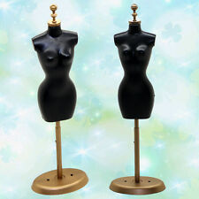 Display Gown Dress Clothes Rack Barbie Doll Mannequin Model Holder Stand 1pcs