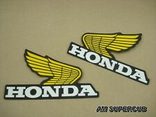 Honda Z50 XL70 XL80 XL100 XL125 XR75 XR80 XR100 Gas Tank Decal Sticker Wing pair