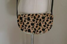 TOPSHOP Animal Print Cross Body Shoulder bag
