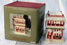 2002 DEPT 56 Simple Tradition HOLLY LANE SWEETS SWEET SHOP Lighted House