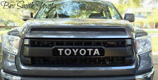 NEW OEM TOYOTA TUNDRA 2014 AND UP TRD PRO MAGNETIC GRAY 1G3 GRILLE & HOOD BULGE