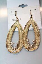 Melinda Maria earrings gold tone Finnegan' Small Pod Drop