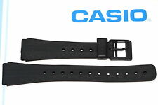 CASIO 18MM BLACK RUBBER SPORT WATCH BAND STRAP FITS DW5200 DW5700C