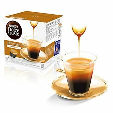 Dolce Gusto Espresso Caramel Coffee (3 Boxes,Total 48 Capsules ) 48 Servings