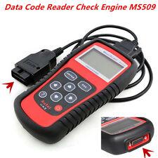 Car Scanner Diagnostic Live Data Code Reader Check Engine MS509 EOBD OBD2 OBDII