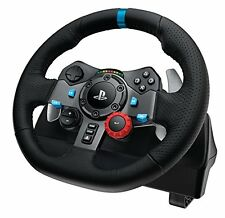 LOGITECH G29 DRIVING FORCE RACING WHEEL WITH PEDALS for PS4/PS3/PC
