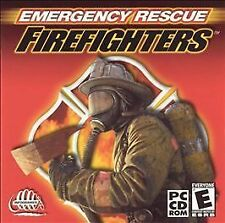 Emergency Rescue Firefighters PC video game CD by Infogrames