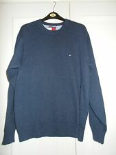 Mens Tommy Hilfiger blue jumper sweater size L