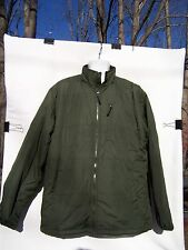 G.H. Bass Earth Men's Green Quilted Explorer Polyester Coat Size Large NWT