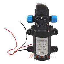 DC 12V 60W Micro Diaphragm High Pressure Water Pump Automatic Switch 5L/min Farm