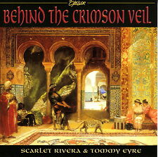 TOMMY EYRE and SCARLET RIVERA - Behind the Crimson Veil (CD 1999)