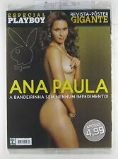BRAZIL PLAYBOY SPEC #386C Gigantic Ana Paula POSTER NEW STILL SEALED