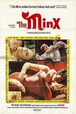 The Minx 1969 Sexploitation US one-sheet Movie Poster Jan Sterling