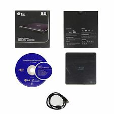 LG BP50NB40 6x Bluray BD RE CD DVD±RW DL Ultra Slim External Disc Drive ReWriter