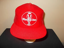 VTG-1980s Market Inn Lobster Maine mesh retro trucker snapback hat sku18