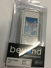 Nokia 2730 TPU Flexi Case in Clear by Beyond Brand New & Sealed in Original pack
