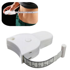 Body Tape Measure Caliper Measuring Waist Measurement Diet Weight Fat  Loss 1.5M