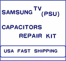 SAMSUNG TV (PSU) BN44-00214A CAPACITORS REPAIR KIT.