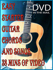 Learn to Play Acoustic GUITAR LESSONS DVD Easy Beginner Chords & Songs Video
